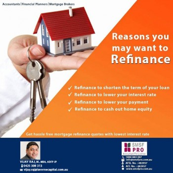 Know The Benefits of Refinancing Home Loan
