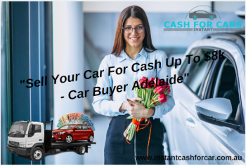 Sell Your Car For Cash Up To $8k