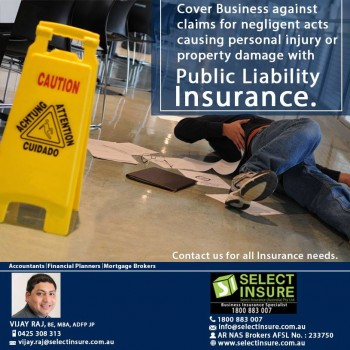 Protection for your business - Public Liability Insurance