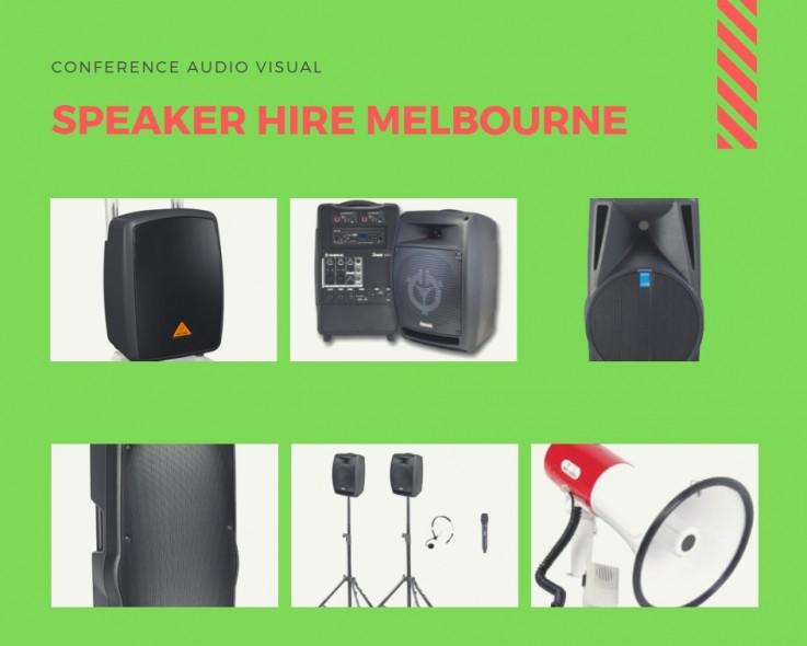 Speaker Hire Melbourne | Audio Visual
