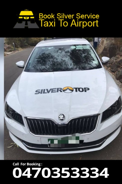 Melbourne To Airport Silver Taxi Service