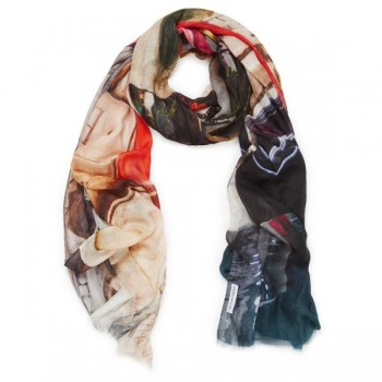 Flaunt Your New Digital Print Scarf