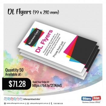 Uthara Print Australia - DL Flyers (99x210 mm)