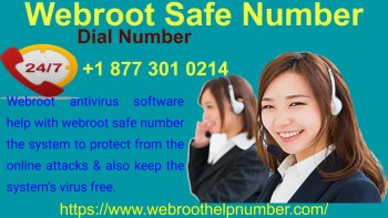 Webroot Safe Number 877-301-0214