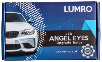 BMW e90 headlights angel eyes