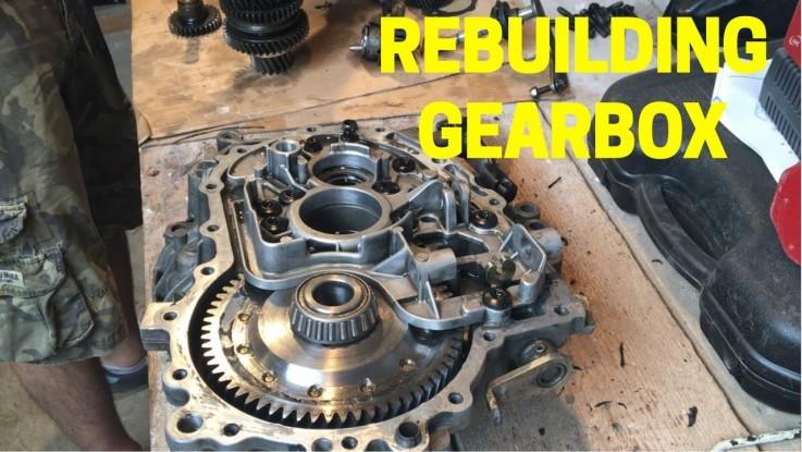 Gearbox Rebuild  ...