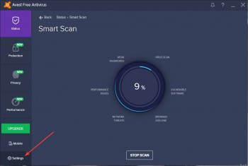 Fix Avast Antivirus Not Working Windows