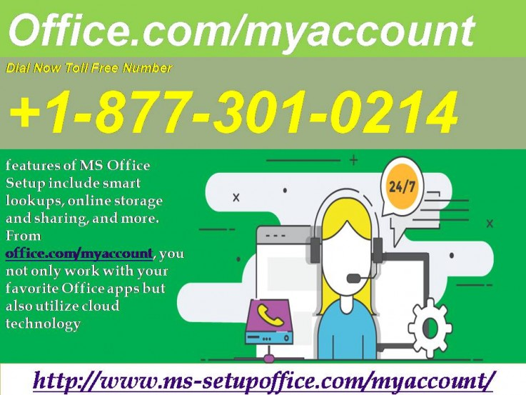 You can Activate office.com/myaccount
