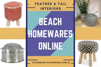 Buy Beach Homewares Online at Feather &