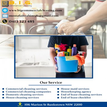 Commercial cleaning services near me Sydney