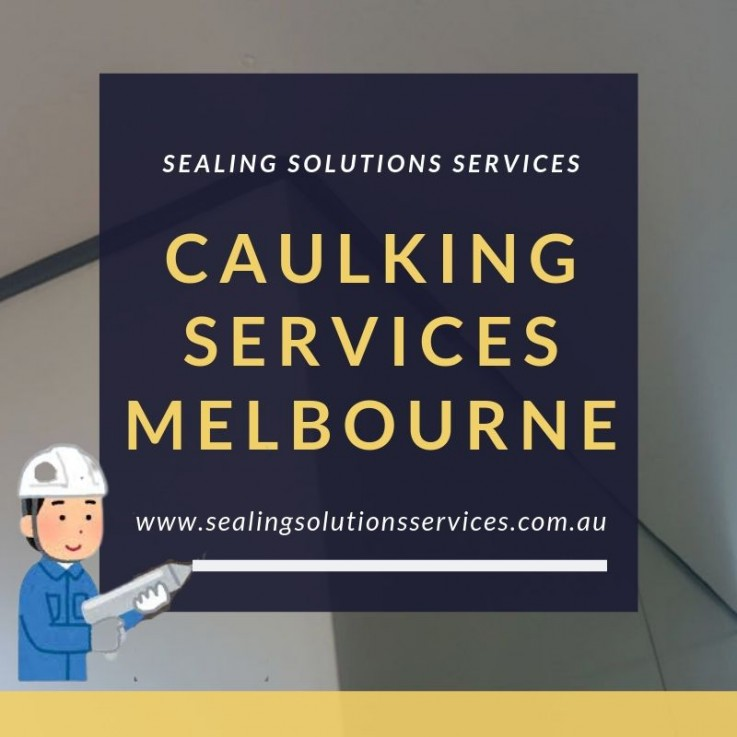 Caulking Services Melbourne | Caulking Contractors Melbourne