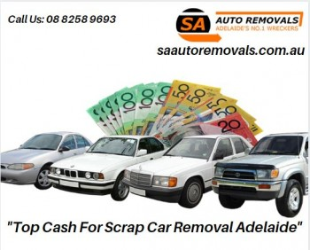 Top Cash For Scrap Car Removal Adelaide