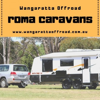 Best Roma Caravans at Wangaratta Offroad