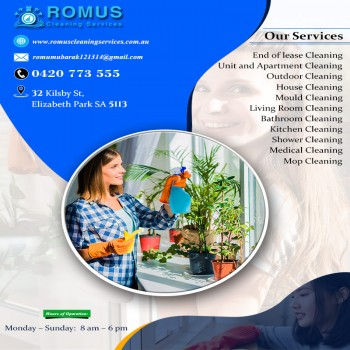 Romus Cleaning Services Adelaide