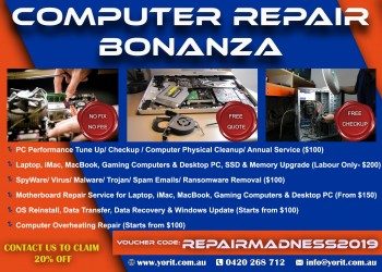 COMPUTER AND LAPTOP REPAIR WITH YORIT