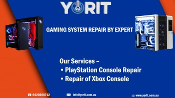 GAMING SYSTEM REPAIR BY EXPERT