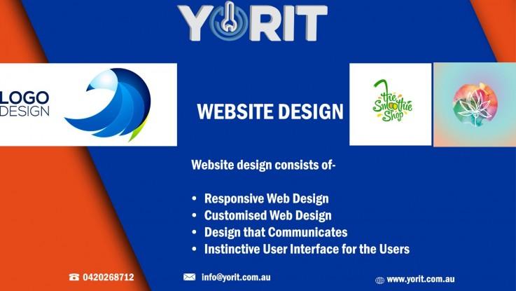 WEBSITE DESIGN WITH YORIT