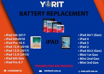 IPAD BATTERY REPLACEMENT SERVICE WITH YORIT