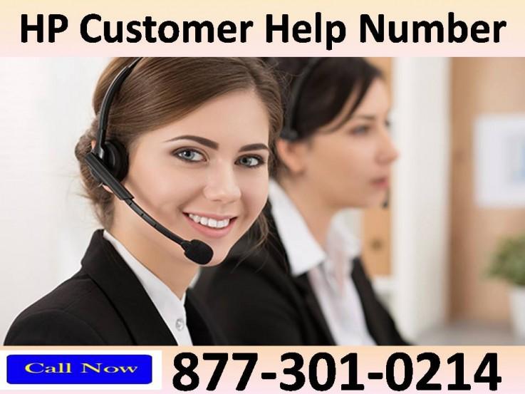 HP Customer Help Number 877-301-0214