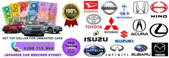 Sell Your Unwanted Japanese Car For Cash