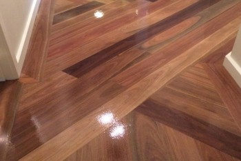 Sanding And Polishing Floorboards