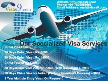 Dubai Visa Online | Apply Dubai Visa from India