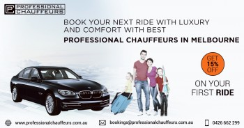 Luxury Chauffeured Cars Services in Melb