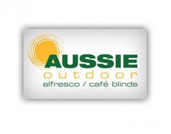 Aussie Outdoor Alfresco/Cafe Blinds Gold
