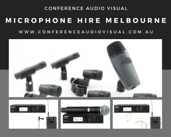 Get Microphone Hire in Melbourne