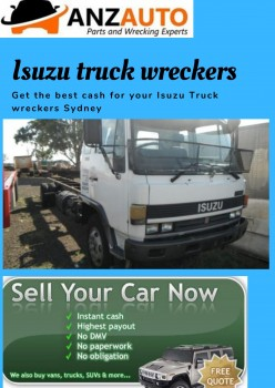 Remove your Isuzu truck wreckers with An