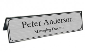 Stylish Custom Office Desk Name Plates M
