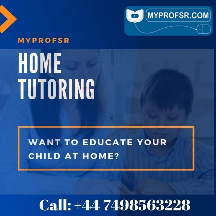 Home tutor in UK