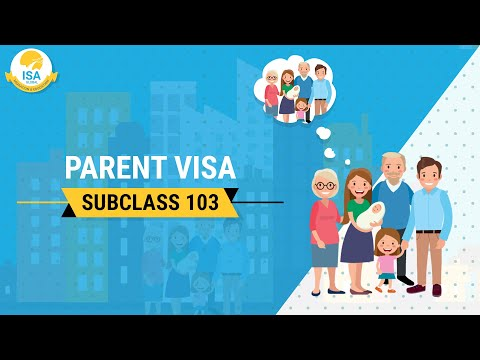 Parent Visa Subclass 103 | Aged Parent Visa 103