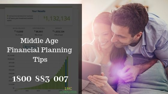 Find the Tips for Middle Age Financial Planning