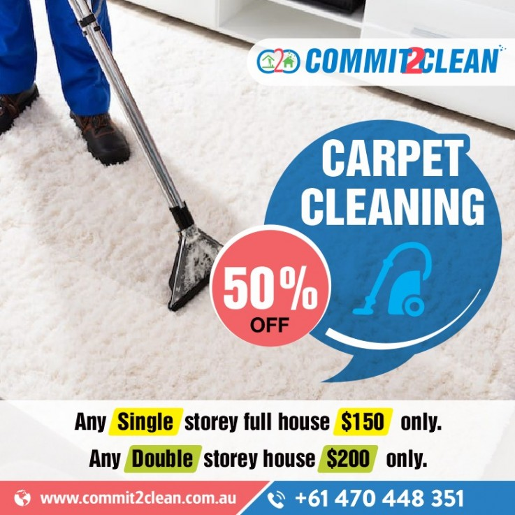 50% OFF | Carpet Cleaning Services in Melbourne