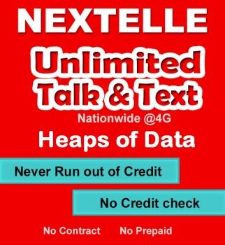 UNLIMITED NEXTELLE MOBILE PLAN–30GB Data