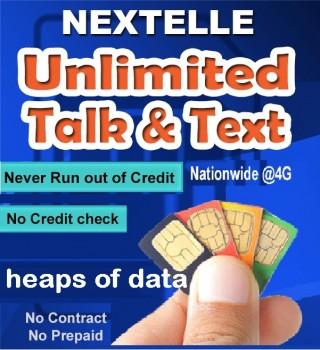 UNLIMITED NEXTELLE MOBILE PLAN–80GB Data