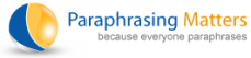 Best Online Paraphrasing Service at Low Price | Paraphrasing Matters