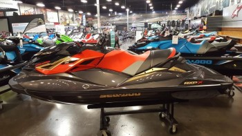 2019 Sea-Doo RXP-X 300 Black and Lava