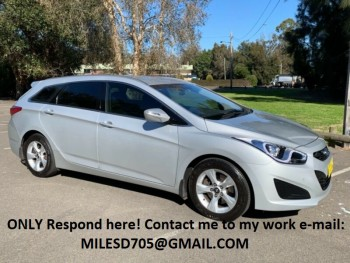 2012 Hyundai i40 ACTIVE Automatic Wagon