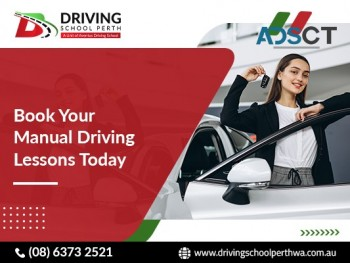 Begin your driving journey enrol now for manual driving lesson Perth.