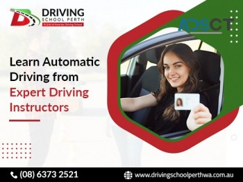 Learn the automatic driving lessons at Driving School Perth.