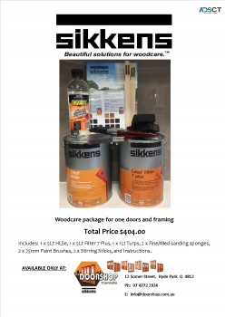 Sikkens Wood Finishes/Stains For Sale in