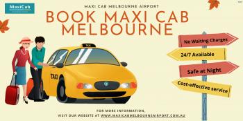 Maxi cab taxi Melbourne