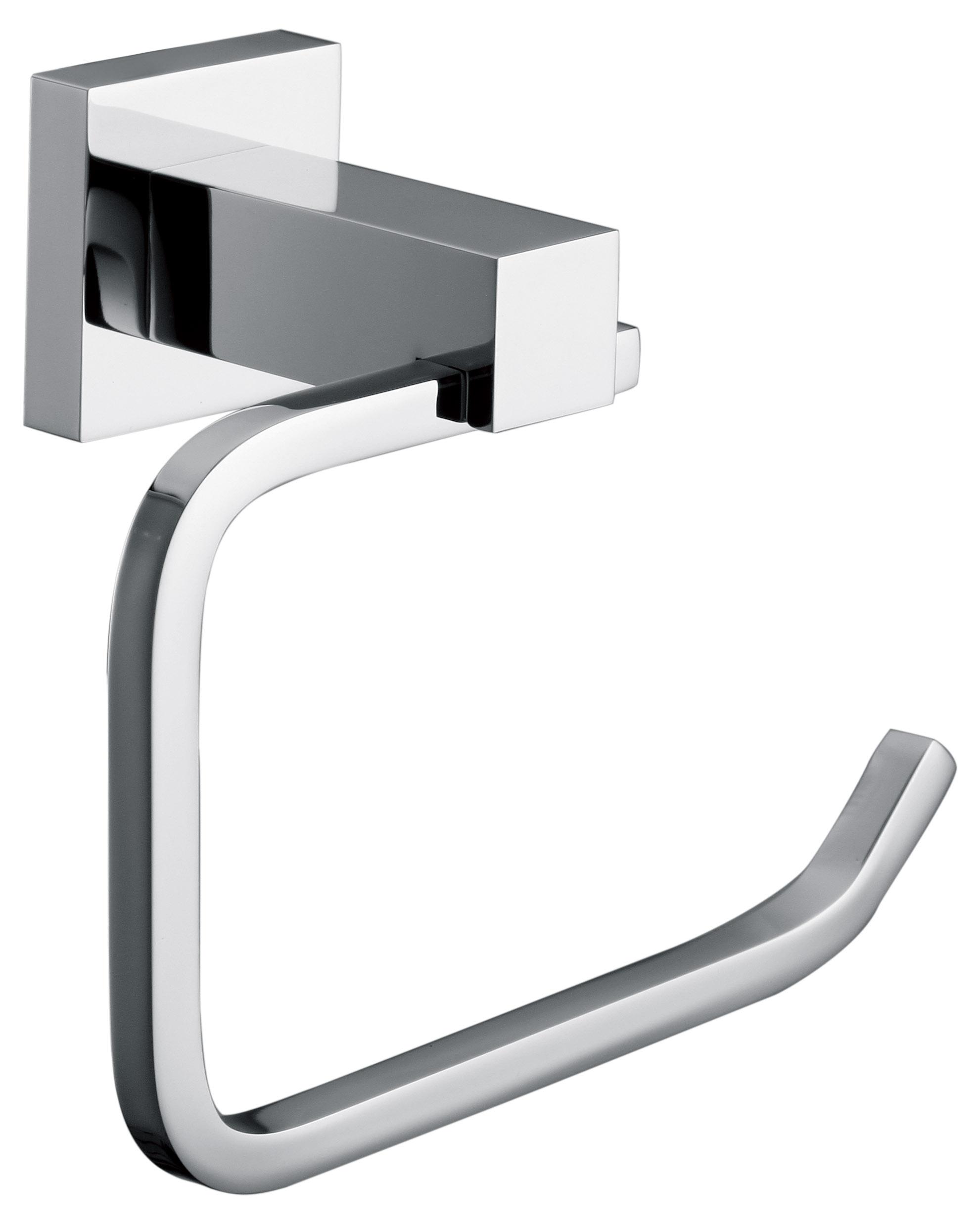 Chr-ome Toilet Pap-er Holder  Z2317