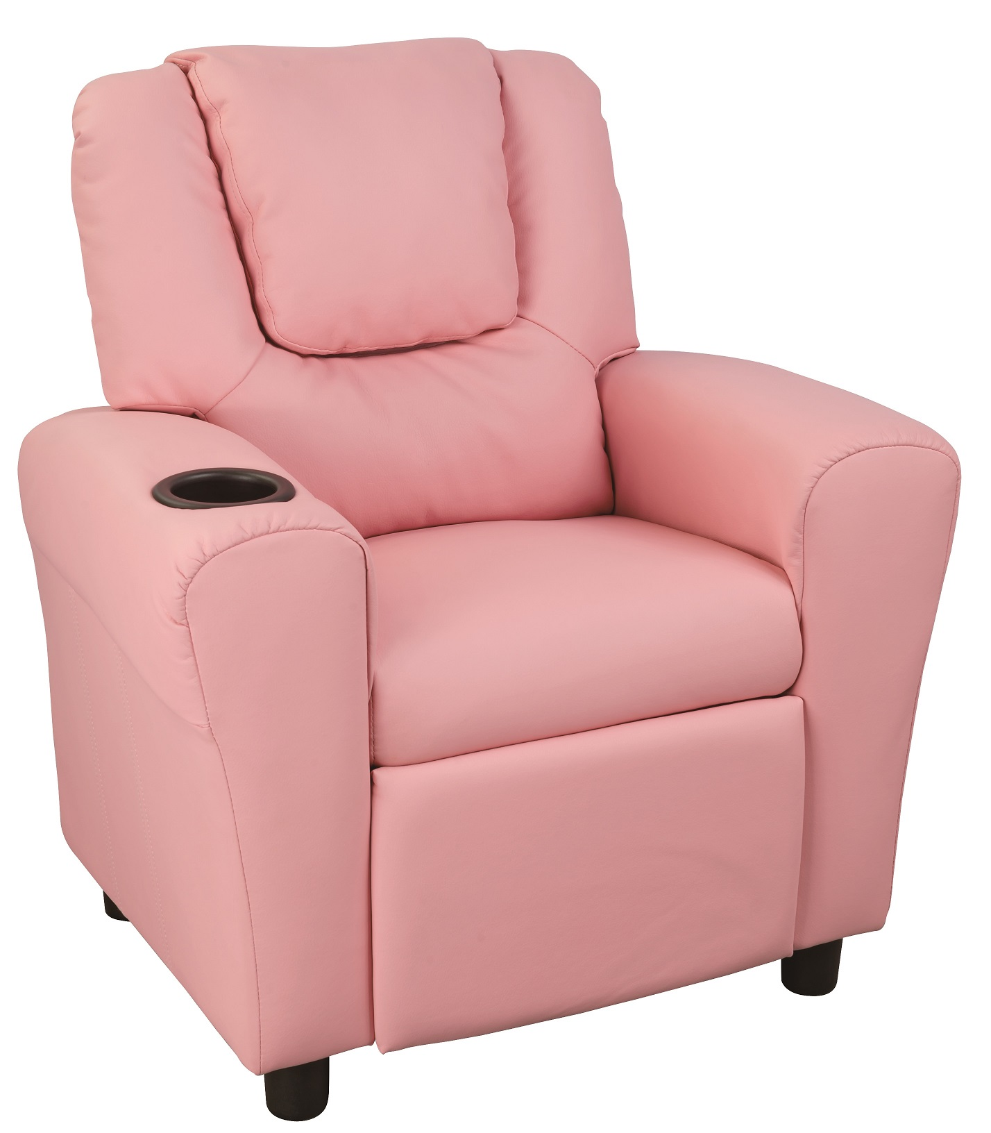 PU Leather Kids Recliner with Drink Holder  Z2321