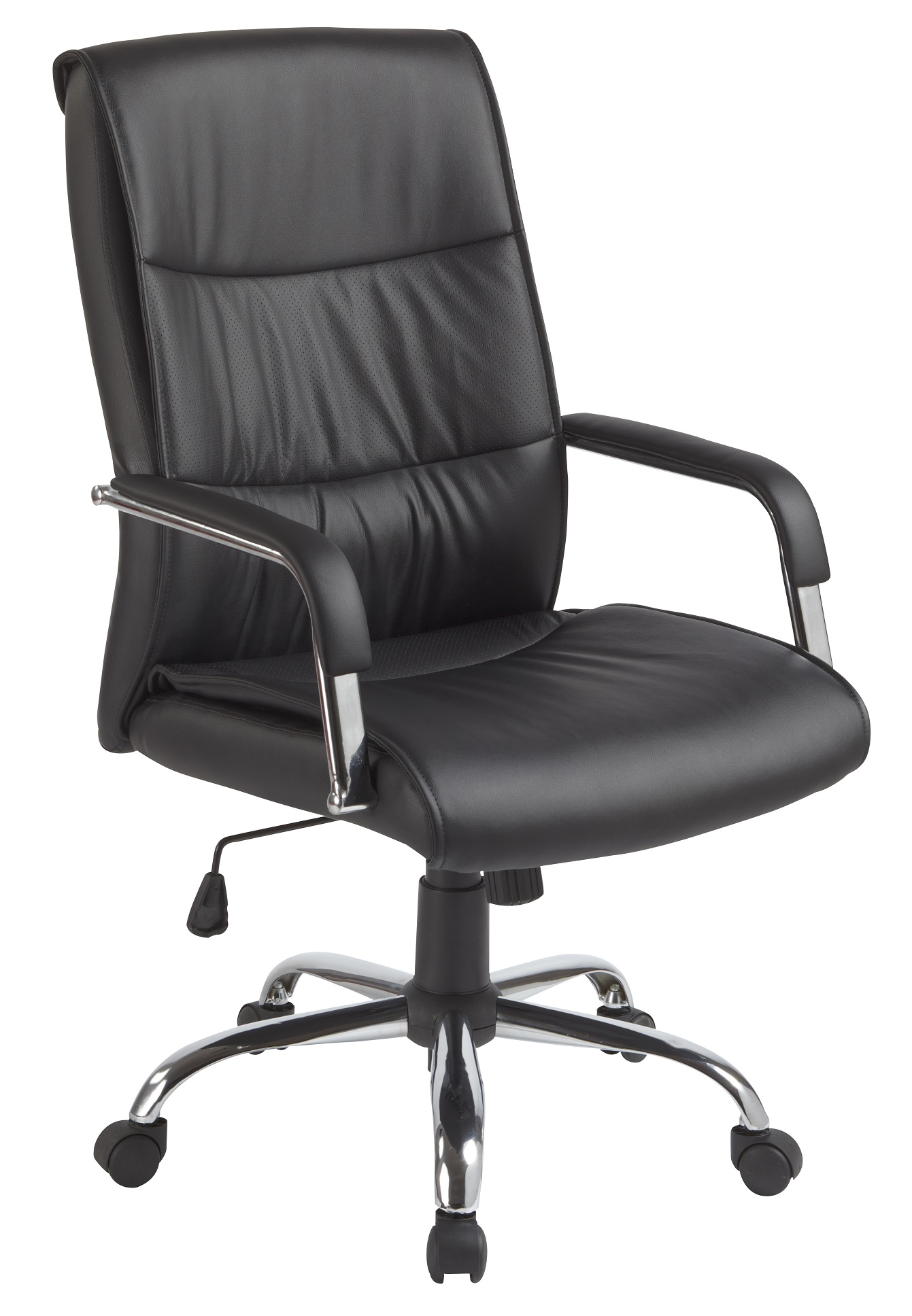 PU Leather Office Chair Executive Padded Black  Z2322