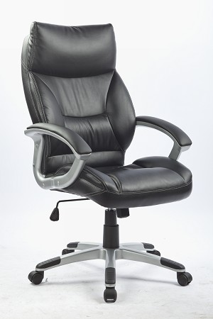PU Leather Office Chair Executive Padded Black  Z2323