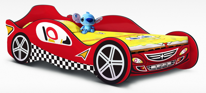 Red Racing Car Bed Kids Race  Z2335