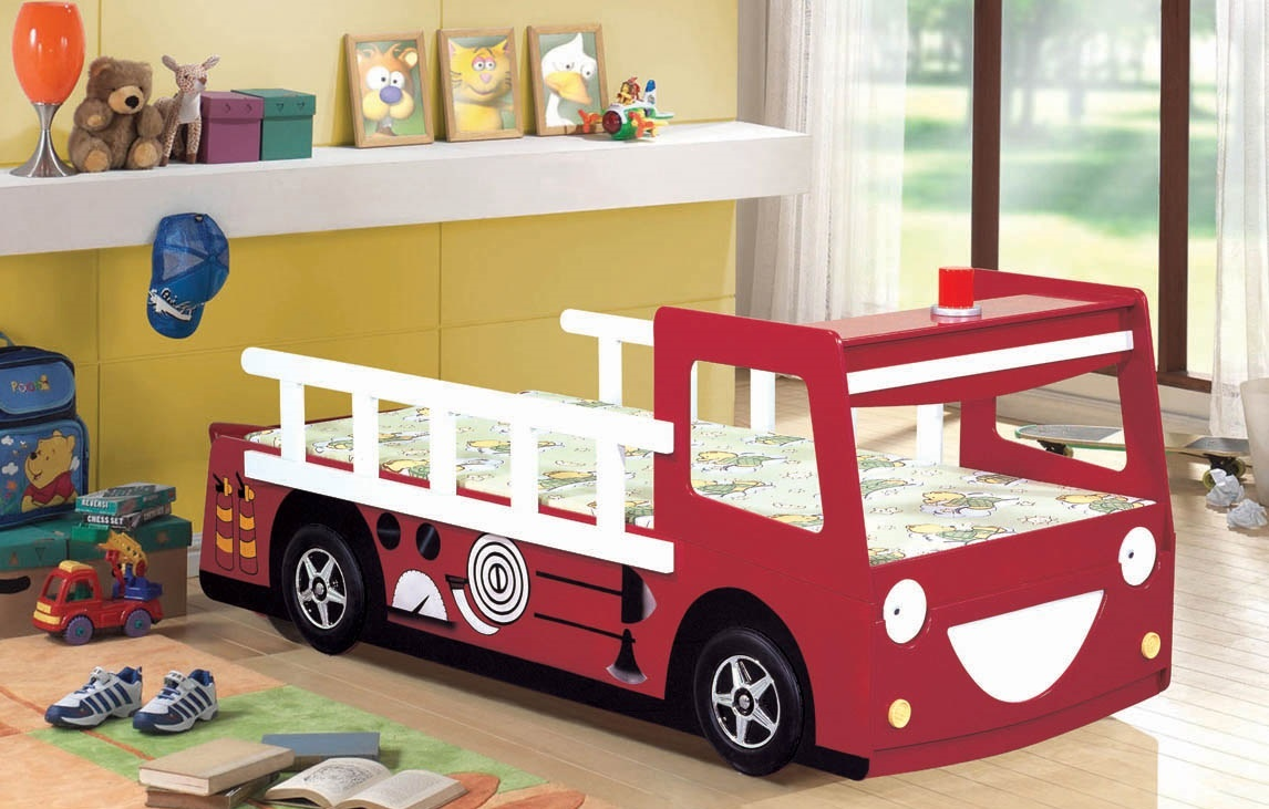 Red Fire Engine Bed  Z2337